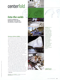 Interior Design Magazine: into the voids
