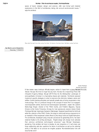 Arts Hebdo Media: When Architecture breathes