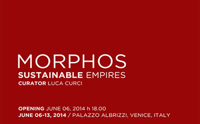 B+U featured at Morphos exhibition, Venice, Italy