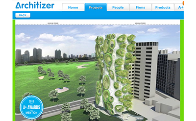 B+U receives Architizer A+ Award