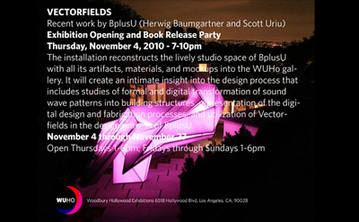 Vectorfields Exhibition